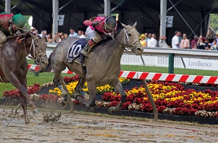 Actress with Nik Juarez wins the Black-eyed Susan (gr. II) for trainer John Servis and Mary and Gary West  May 19, 2017 Baltimore in Pimlico, Maryland.