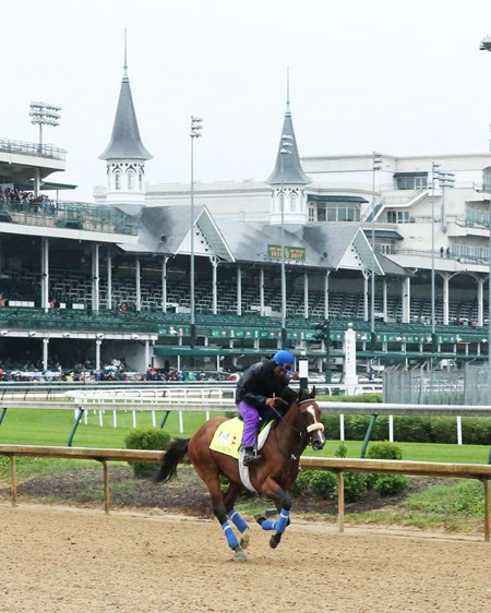 Gormley - Gallop - Churchill Downs - 05-04-17