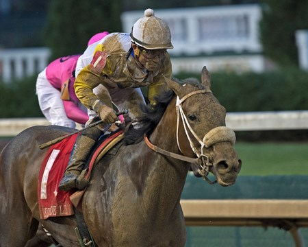Forever Unbridled with Joel Rosario wins the Fleur de Lis (G2)