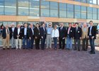 Hall of Fame Jockeys at 2017 Jockey and Jeans, From left, Bobby Ussery, John Rotz, Bill Boland, Earlie Fires, Pat Day, Laffit Pincay Jr., Sandy Hawley, Don Pierce, Julie Krone, Braulio Beaza, Jorge Velasquez, Manny Yzaza, Chris McCarron, and Ramon Dominquez