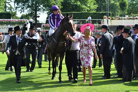 Highland Reel wins the 2017 Prince of Wales's Stakes