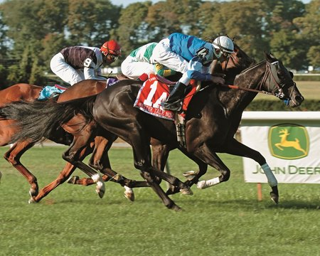Better Talk Now asserts himself again in Man o'War win.