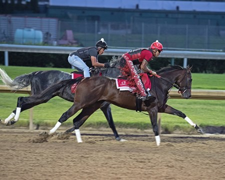 Churchill Works at Churchill including Classic Empire's final work before the Belmont Stakes, working in company with Airoforce. June 2, 2017
