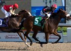 Holy Helena Surges to Woodbine Oaks Victory