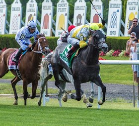 Ascend Shocks Manhattan Rivals In Graded Stakes Debut