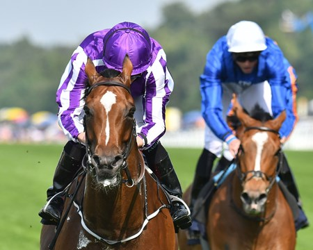 Highland Reel and Ryan Moore win the Group 1 Prince of Wales's Stakes, Royal Ascot.