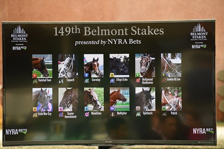 2017 Belmont Post Position Draw