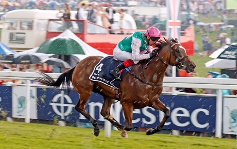 Enable Coasts To Victory In Epsom Oaks Bloodhorse