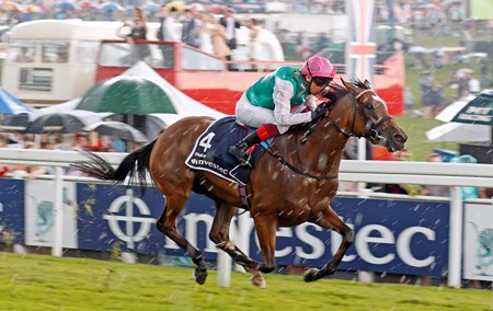 Enable and Frankie Dettori win The Investec Oaks Epsom June 2, 2017