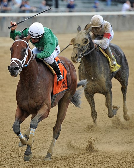 Roy H, Paco Lopez up, wins the G2 True North at Belmont