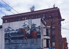 Man o' War mural in downtown Lexington