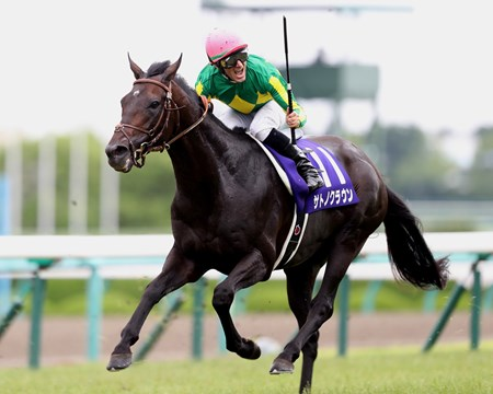 Satono Crown (JPN) wins the 2017 Takarazuka Kinen (JPN-I)