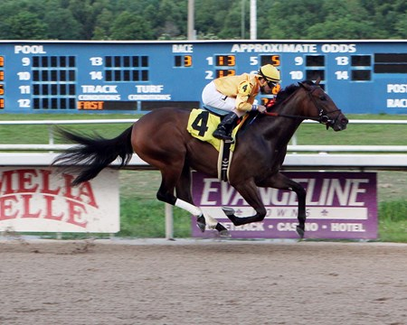 Meter - Maiden Win, Evangeline Downs, June 2, 2017 First winner for Bind