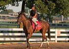 Salty with Froylan Garcia in the saddle at Churchill Downs in June