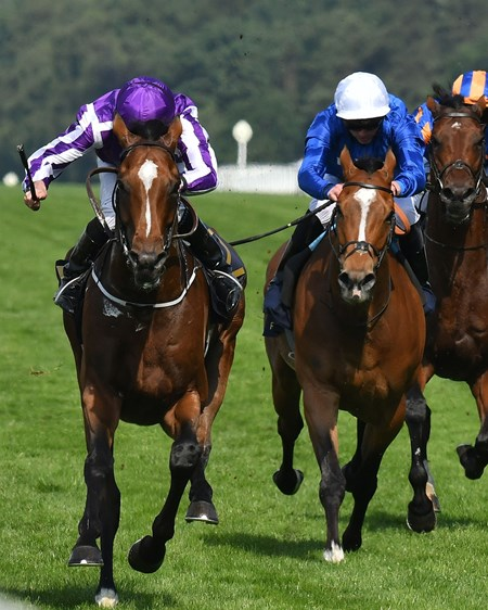 Highland Reel and Ryan Moore win the Group One Prince of Wales's Stakes, Royal Ascot, Ascot, UK 6/21/17