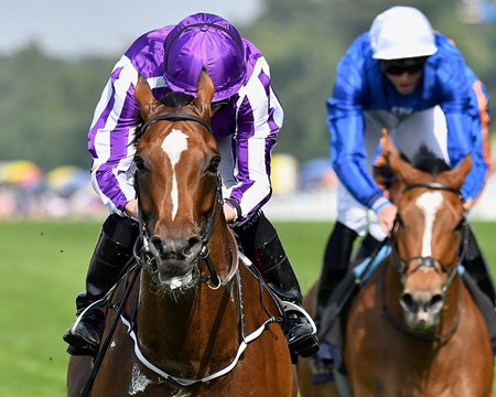 Highland Reel wins Prince of Wales's (G1) at Royal Ascot on June 21, 2017, at Ascot Racecourse.
