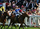 Qemah wins the Duke of Cambridge Stakes at Royal Ascot