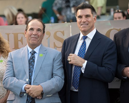 Always Dreaming co-owners Anthony Bonomo, left, and Vincent Viola