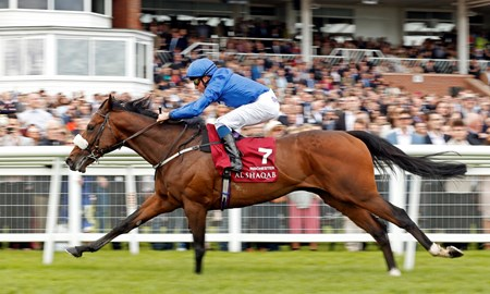 Ribchester (IRE) wins the 2017 Al Shaqab Lockinge Stakes