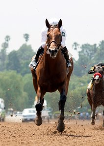 Battle of Midway soars to victory in the Affirmed Stakes