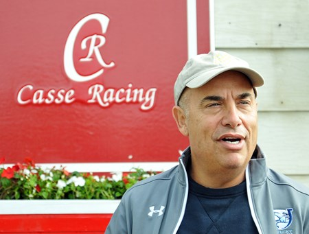 Trainer Mark Casse talks about not being able to run Classic Empire in the Belmont Stakes, due to an abscess