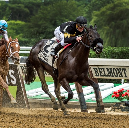 I Still Miss you wins the 2017 Astoria Stakes