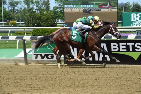 Presence of Mind - Maiden Win, Belmont Park, May 12, 2017