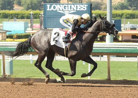 Schulace - Maiden Win, Santa Anita Park, June 2, 2017