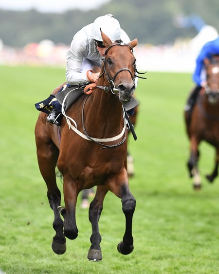 Permian, William Buick, win the King Edward VII Stakes, Royal Ascot, Ascot UK, 6/23/17