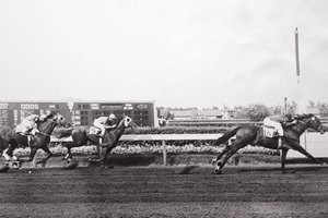 Ponder's record-breaking American Derby win in 1949