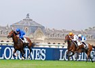 Thunder Snow stays clear of runner up Trais Flours to win the Prix Jean Prat