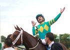 Joe Bravo celebrates his fourth United Nations win in the past six years