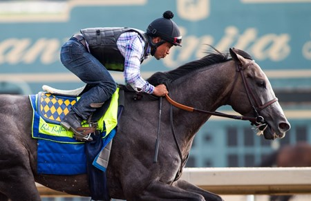 Arrogate - Santa Anita, July 2, 2017