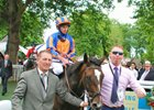 Roly Poly and Ryan Moore after their Prix Rothschild win
