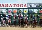 The first race on opening day at Saratoga, won by Indycott