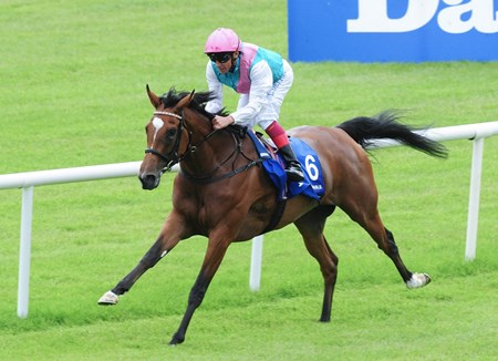 Enable & Frankie Dettori are easy winners of the Group 1 Darley Irish Oaks.