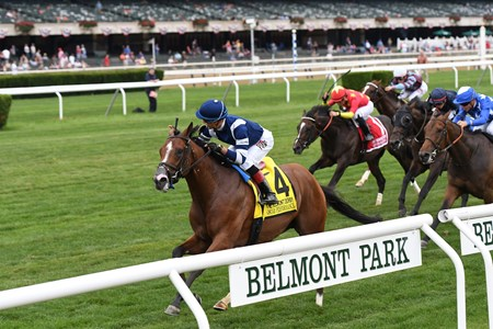 Oscar Performance wins the 2017 Belmont Derby Invitational