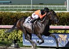 Imperial Hint returns to win the Smile Sprint Stakes at Gulfstream Park