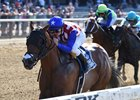 American Gal Impresses in Victory Ride