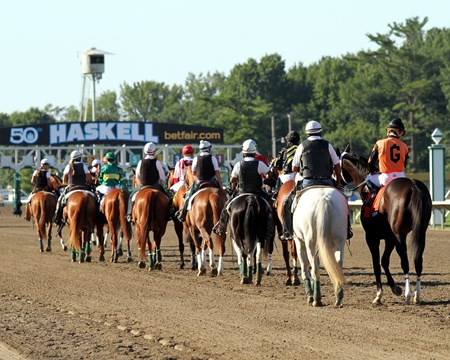 The post parade for the 2017 Haskell Invitational (G1)