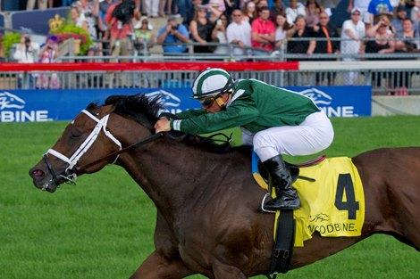 Green Mask Powers To Highlander Score Bloodhorse