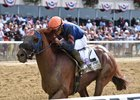 Mind Your Biscuits Tends to Business in Belmont Sprint