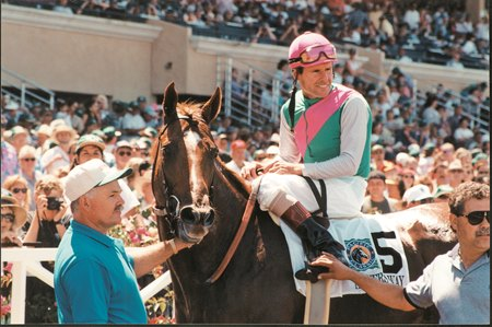 Tinners Way after winning the 1995 Pacific Classic at Del Mar