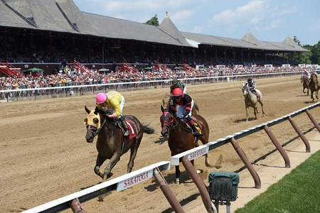First Race at Saratoga 2017, July 21, 2017 Won by Indycott over River Date