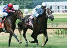 Fort Wise Treaty breaks his maiden by a neck over Eclipsed Moon July 4 at Ellis Park