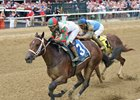 Firenze Fire holds off Free Drop Billy in the Sanford Stakes