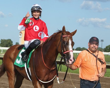 Minnesota Derby winner Hot Shot Kid was the top earning Minnesota-bred this year