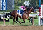 West Coast rolls home to win the Travers Stakes