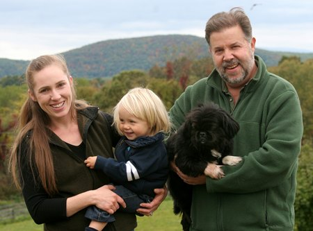 Michael Lischin and Anya Sheckley, co-owners of Dutchess Views Farm