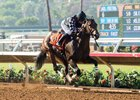 Spiced Perfection rolls clear by two lengths in the Generous Portion at Del Mar Aug. 30